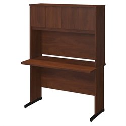 Series C Elite 48W x 24D C Leg Desk with Hutch