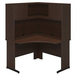 Bush BBF Series C Elite 48Wx48D C Leg L Computer Desk in Mocha Cherry