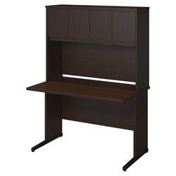 Series C Elite 48W x 30D C Leg Desk with Hutch
