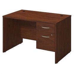 Bush BBF Series C Elite 48W x 30D Computer Desk Shell in Hansen Cherry