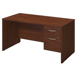 Bush BBF Series C Elite 60W x 30D Computer Desk Shell in Hansen Cherry