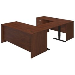 Bush BBF Series C Elite 72W Adjustable Standing U Office Set