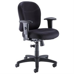 Bush Business Furniture Multi Function Office Chair in Black