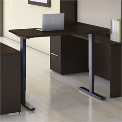 Move 80 Series 48W x 24D Height Adjustable Standing Desk in Cherry