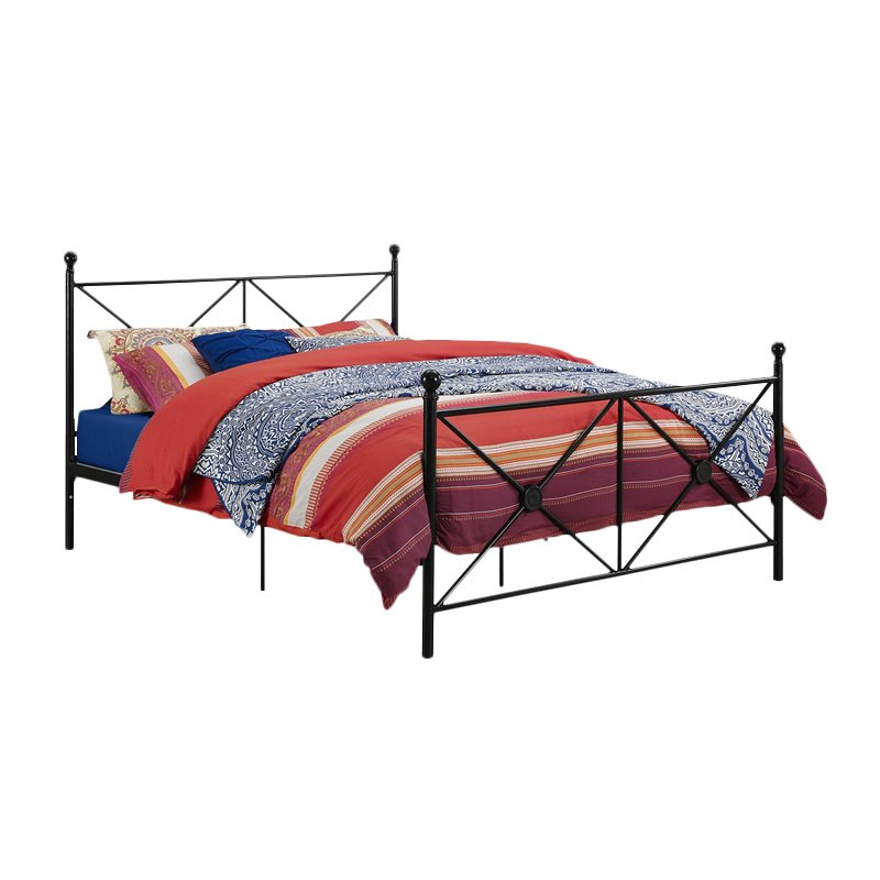 DHP Lubin Queen Bed in Black