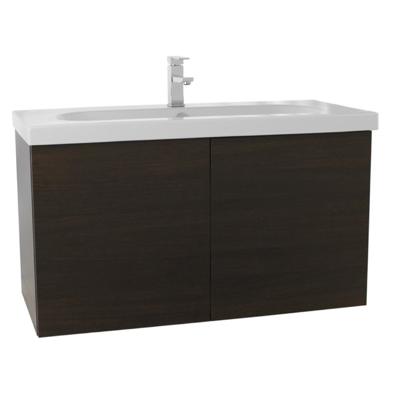 Nameeks Trendy 39 Bathroom Vanity in Wenge