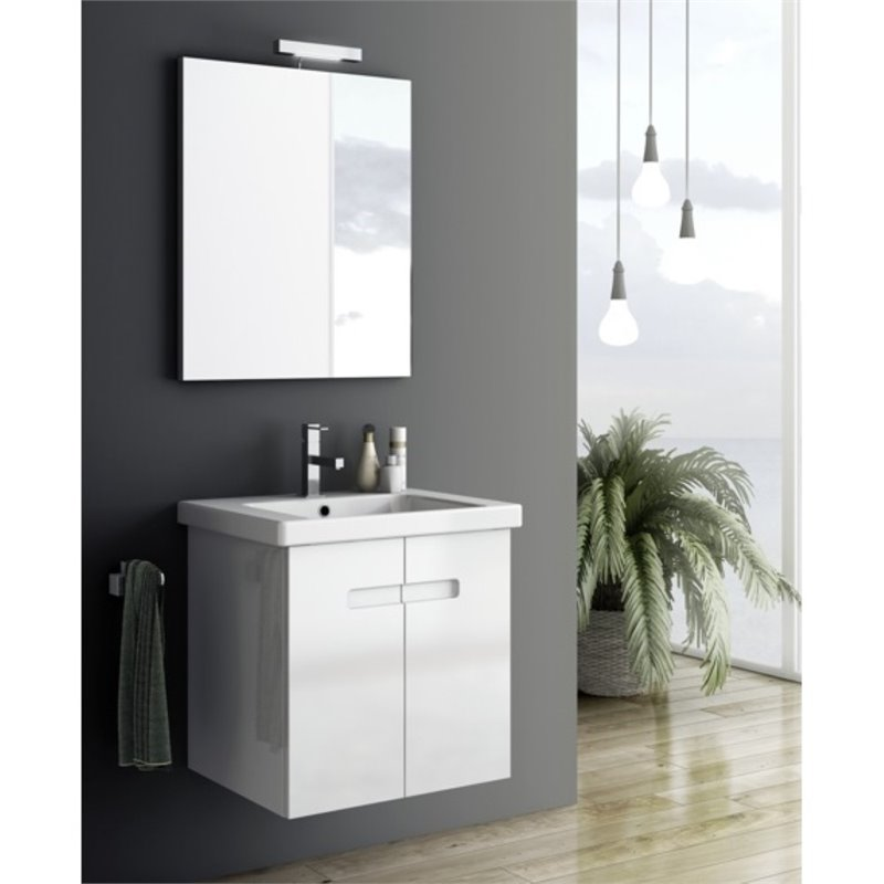Nameeks New York 21 Bathroom Vanity in PVC Matt Canapa