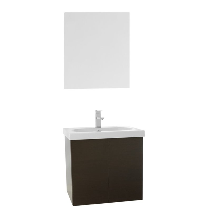 Nameeks Trendy 23 Bathroom Vanity in Wenge