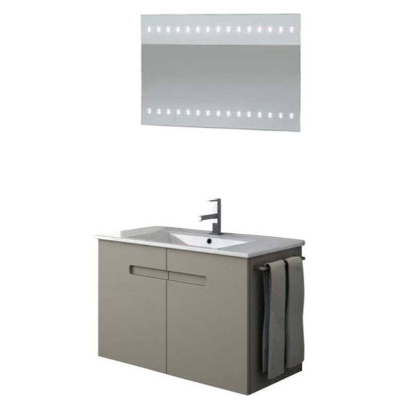 Nameeks New York 32 Bathroom Vanity in PVC Matt Canapa