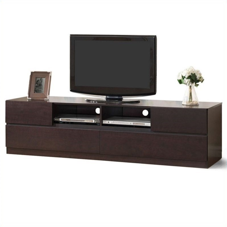Lovato TV Stand in Dark Brown