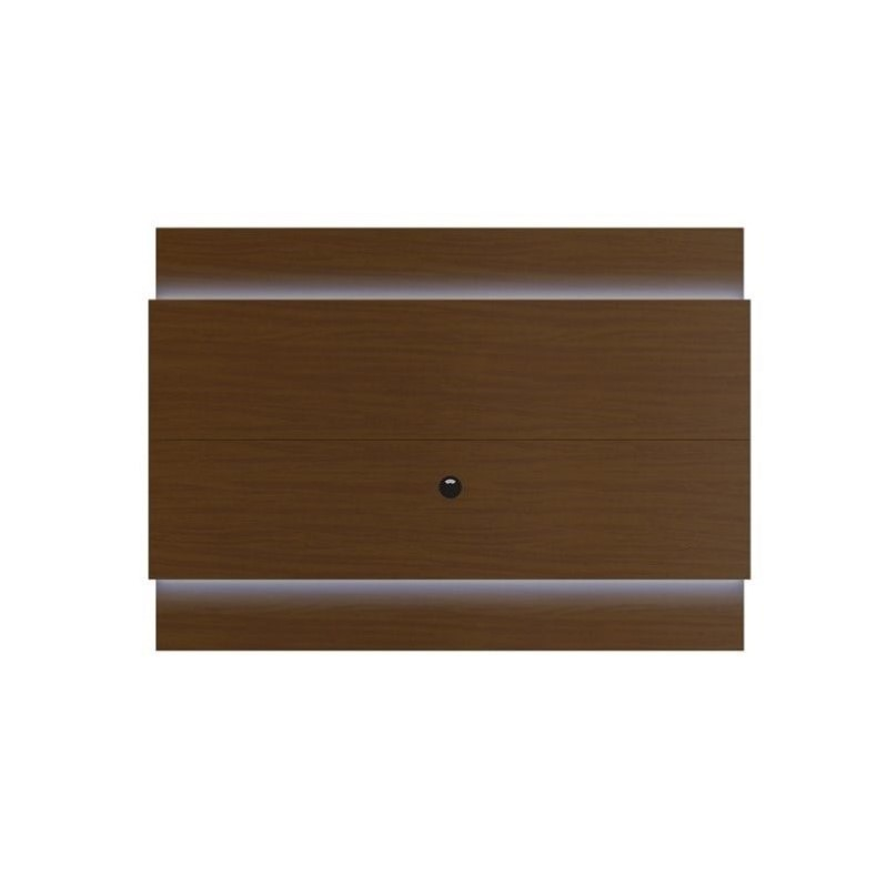 "Manhattan Comfort Lincoln 1.9 Series 77"" Tv Panel In Nut Brown"