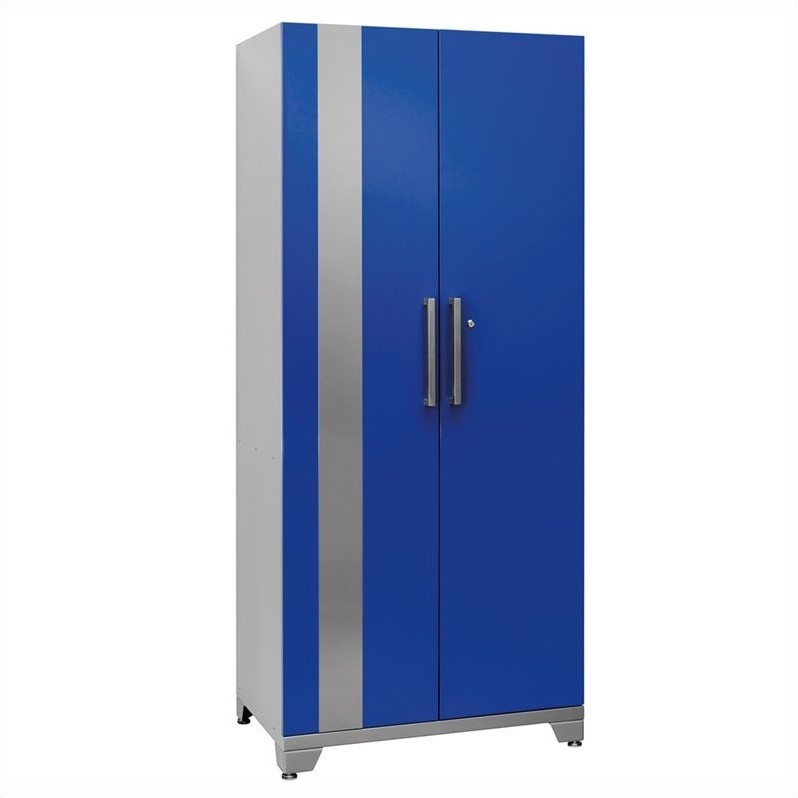 Newage Performance Plus Series Garage Locker Storage Cabinet in Blue