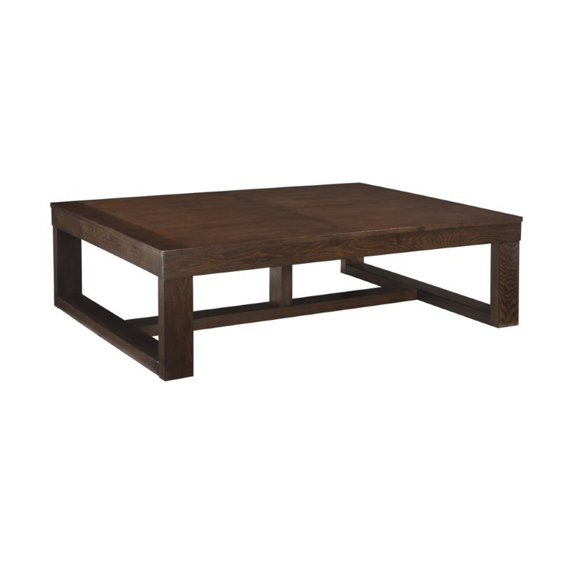 Ashley Watson Coffee Table in Dark Brown