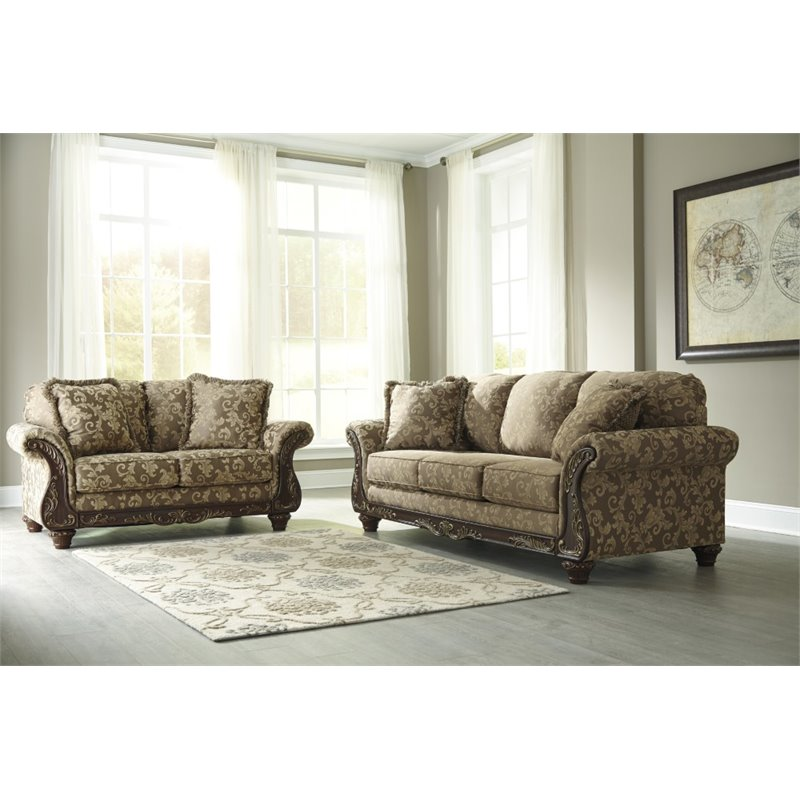 Ashley Irwindale 2 Piece Sofa Set in Topaz