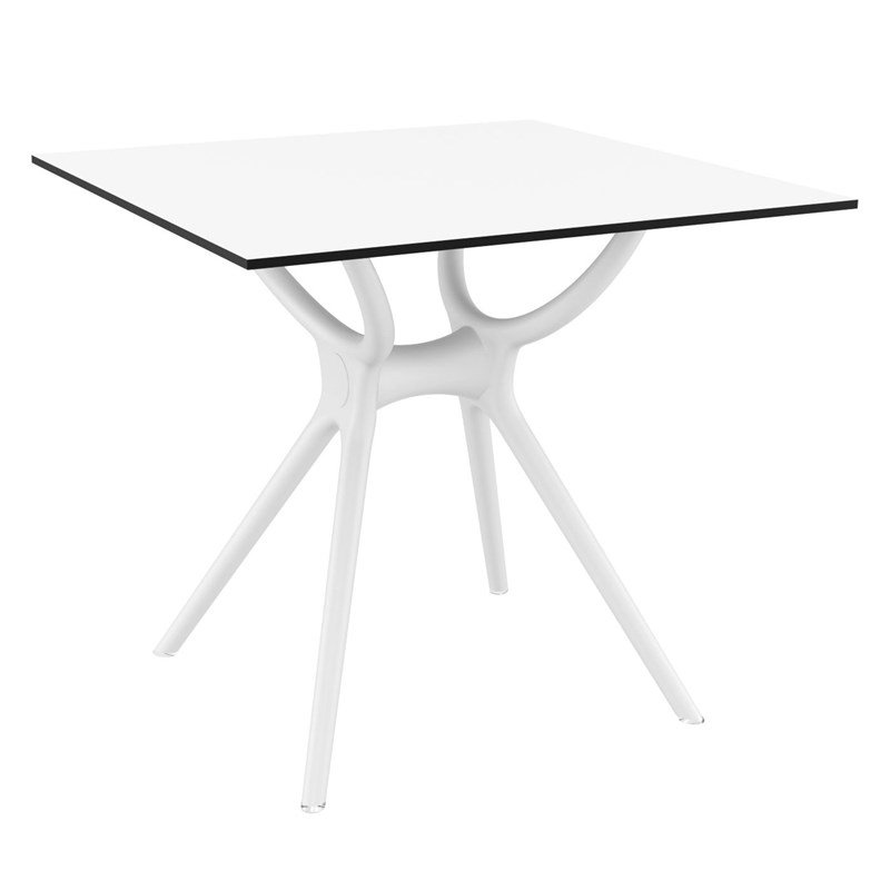 Compamia Siesta Air 31 Square Dining Table in White