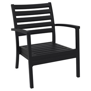 Compamia Artemis XL Club Chair in Black