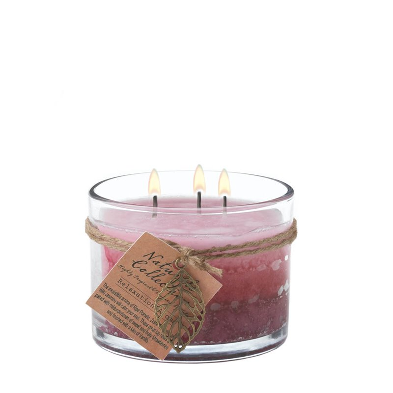 Zingz and Thingz Relaxation Glass Jar Candle 1459255