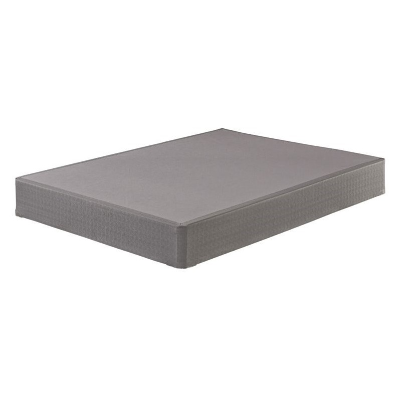 Sierrasleep Queen Standard Mattress Foundation in Gray
