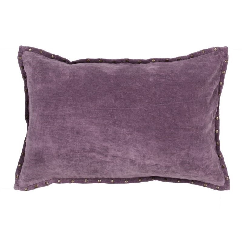 Jaipur Rugs Timeless By Jennifer Adams 24 Cotton Pillow in Purple