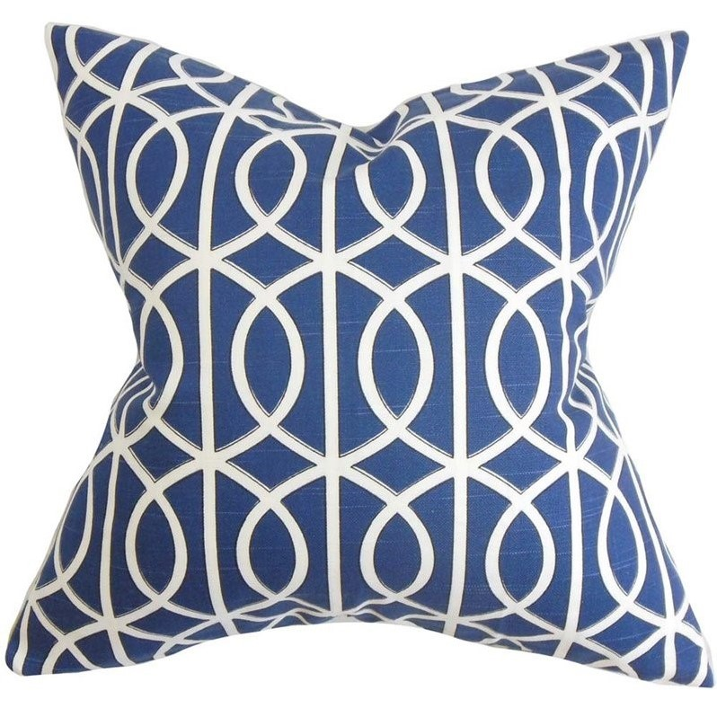 the pillow collection 20 square lior geometric throw pillow - The Pillow Collection