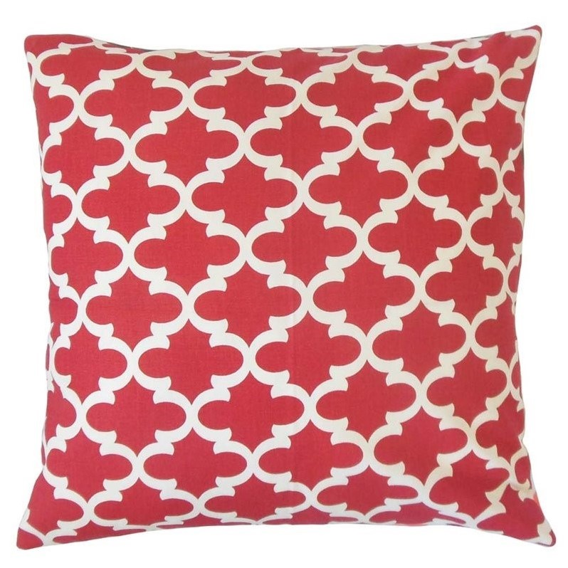 the pillow collection 20 square vilayna geometric throw pillow - The Pillow Collection