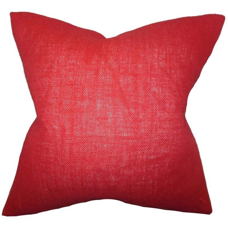 the pillow collection 20 square ellery solid throw pillow - The Pillow Collection