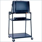 VTI WBC48E 48 inch  2-Shelf Wide Body TV Cart