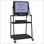 VTI WBC54E Wide Body TV Cart