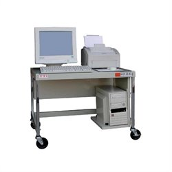 MCW20E 27 inch Mobile Computer Workstation