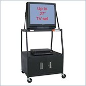 VTI - 44 inch Wide Body TV Cart with Cabinet