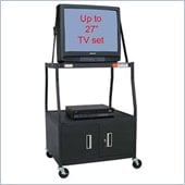 VTI - 48 inch Wide Body TV Cart with Cabinet