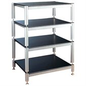 VTI BL404-13 4 Shelf Audio Rack (with 13 bottom shelf clearance)
