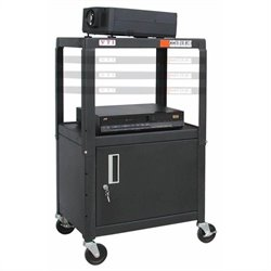 VTI MFCAB4226E Adjustable Cart with Cabinet