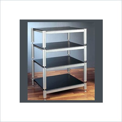 VTI BL404-13 4 Shelf Audio Rack (with 13&quot; bottom shelf clearance)