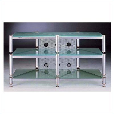 VTI  50&quot; Silver TV Stand