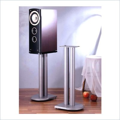 VTI UF Series Silver Speaker Stands