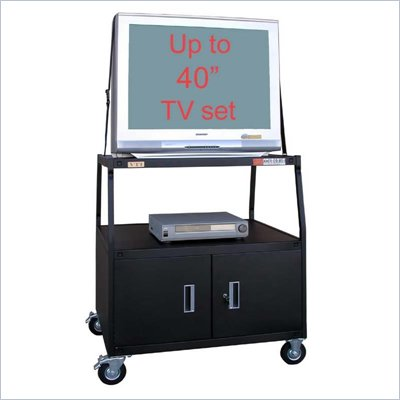 VTI TV Cart with Cabinet