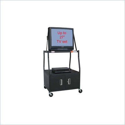 VTI - 54 inch Wide Body TV Cart with Cabinet