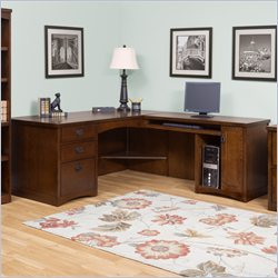 Kathy Ireland Home by Martin California Bungalow RHF L-Shaped Desk