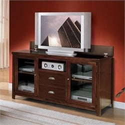 Kathy Ireland Home by Martin Tribeca Loft Wood Plasma TV Stand in Cherry