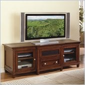 Kathy Ireland Home by Martin Furniture Bradley Wood Plasma TV Stand in Cherry Finish