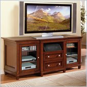 Kathy Ireland Home by Martin Furniture Bradley Wood Plasma TV Stand in Cherry