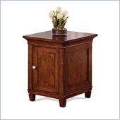 Martin Furniture Bradley Solid Wood Side Table in Cherry