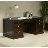 Kathy Ireland By Martin Fulton Office Double Pedestal Executive Desk