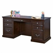 Kathy Ireland By Martin Home Furniture Fulton Wood Office Credenza in Espresso