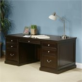 Kathy Ireland By Martin Fulton Office 72 Double Pedestal Executive Desk