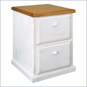 Kathy Ireland By Martin Southampton Office 2 Drawer in Oyster White