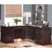 Kathy Ireland by Martin Furniture Fulton 65 Inch Desk and Return Set