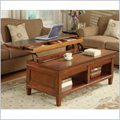 Kathy Ireland by Martin Furniture Bradley Lift and Slide Coffee Table 