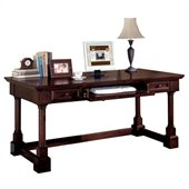 Kathy Ireland Home by Martin Furniture Mount View Wood Writing Desk in Cherry Cobblestone